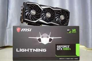 MSI GeForce GTX 1080 Ti Lighting