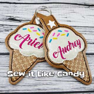 🚚 Personalised ice-cream keychqin