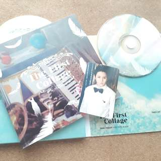 [wts] yang yoseop first solo mini album - the first collage