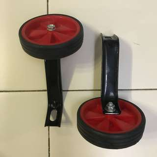 Bicycle training wheels 12""