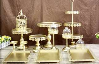 13 PCS CAKE / DESSERT TABLE STAND SET
