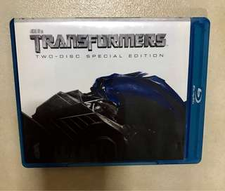 Transformers Blu-ray (DVD) Special edition