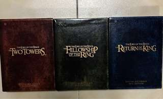 The Lord Of The Rings DVD 📀 (The two towers, The fellowship of the ring, The return of the king.