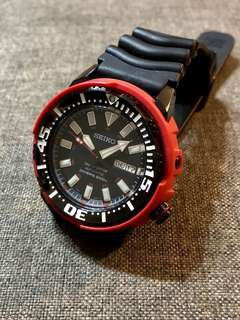 Seiko Baby Red Tuna SRP233 (Limited Edition)