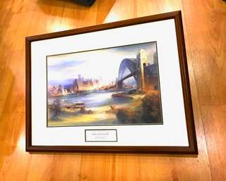 Kenneth Jack R.W.S Picture Frame