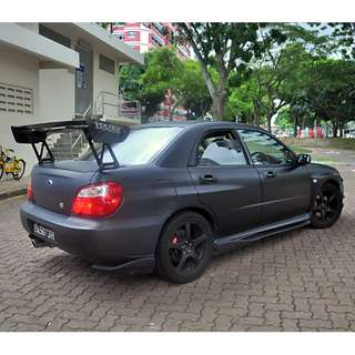 Hari Raya second week promotion - Subaru WRX for rent!