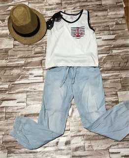 Terno Pants and Top for girls (2-3 years)