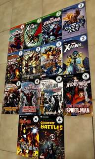 Marvel (DK Reader Collection) 14 Great Books