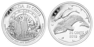 Canada 2013 Artic Expedition Commemorative Coin Set