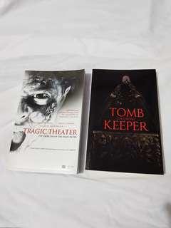 Tragic Theater and Tomb Keeper Books