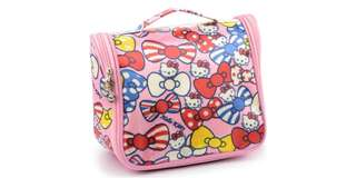 Hello Kitty Organizer, Travel, Makeup, Accessories Pouch
