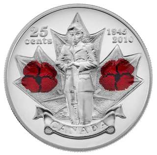 Canada 2010 Commemorative Coloured Coin