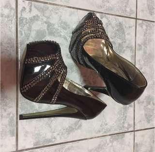 Elegance Black Killer High Heels