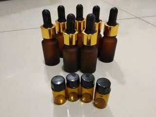 10ml oil glass bottle
