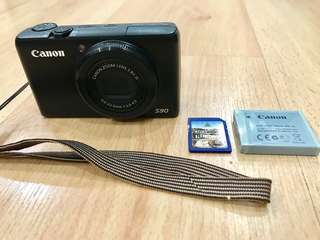 Canon Powershot S90 good condition