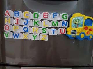 Leapfrog phonics fridge magnet