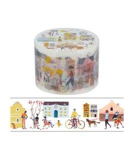 Aimez le Style Washi Tape Masking Tape Bus Stop