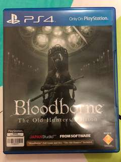 Bloodborne: The Old Hunters Edition (RALL) PS4