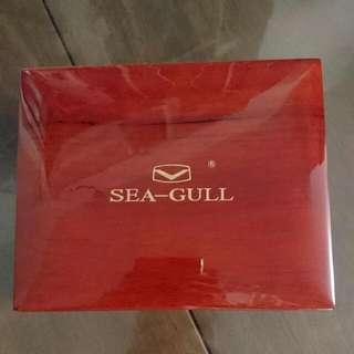 海鷗表 Sea-gull 皮帶自動錶