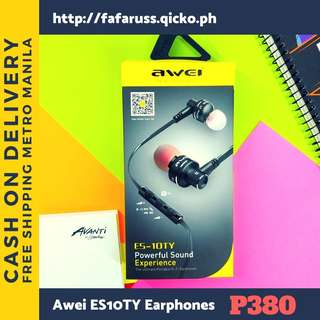 Awri ES10TY Superbass Earphone