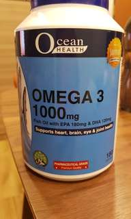 Omega [one bottle is open and one bottle is not and it comes with a twin pack ]