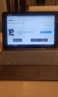 Asus Transformer Book T100HA notebook