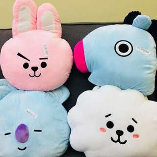 BT21 BTS HEAD CUSHION PILLOW Plushies