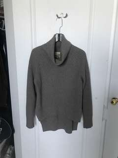 Aritzia- Wilfred Free Lin Sweater- Modern Taupe- Small