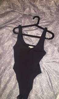 Kookai black bodysuit size 1