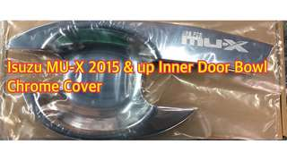 ISUZU MU-X 2015 & UP INNER DOOR BOWL CHROME COVER