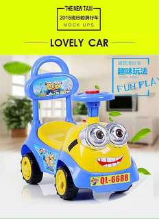 Minions Mini Ride On Car