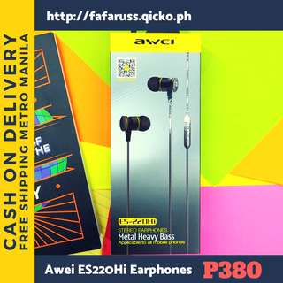 Awei ES220 Hi Superbass Earphones