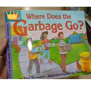 BBW JKT 2018 Where Does Garbage go kids reference books