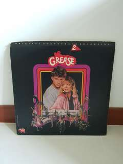 Grease 2 vinyl records
