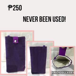 Purple Pouch for iPhone