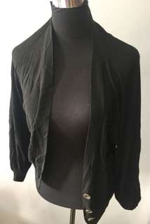 Black Loose Cardigan