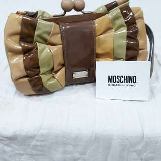 Moschino clutch bag Miu Miu Michael Kors Coach Chanel