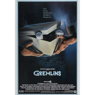 gremlins movie posters