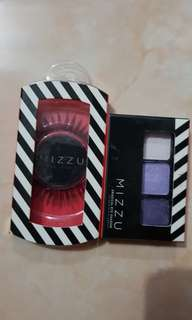 Mizzu eye shadow dan bulu mata