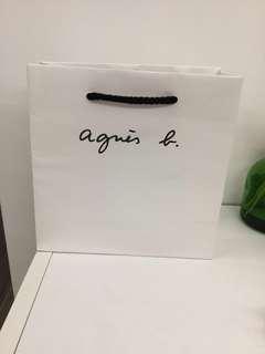 Agnes b小紙袋