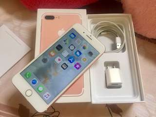 IPhone 7Plus 32GB Factory Unlock rosegold
