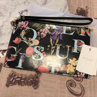 Ted baker clutch cosmetic bag 手拿包 手袋 包包 化妝袋