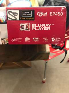 LG Wires Streaming 3D Blue Ray Player