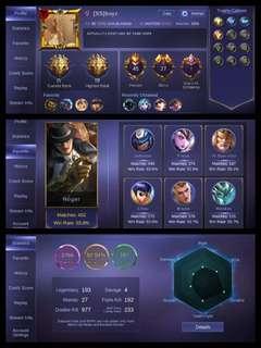 Mobile Legends acc
