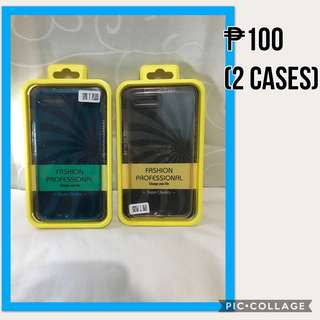 Bundle Case! Clear Blue & White Case