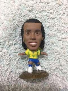 巴西 細哨 朗拿顛奴 世界盃國家隊足球經典球星公仔 World Cup Legend Corinthian