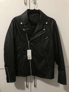 Brandnew Uniqlo Faux Leather Jacket