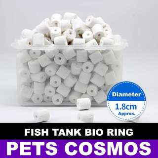 Fish Tank Ceramic Bio Rings 2.5kg Pack