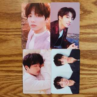 Jungkook & Jimin LY/Tear Photocards