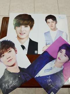 LIMITED EDITION EXO POSTERS